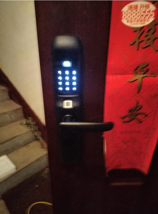 濮阳专业换锁芯-阳光金城业主安装久邦智能锁指纹密码锁经济实用